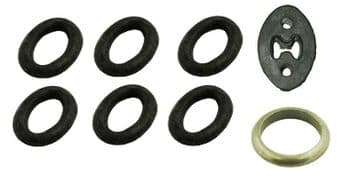 Fiat Ducato 1.9 , 2.0, 2.5 & 2.8 Rear Silencers Tail Pipe Exhaust Fitting Kit